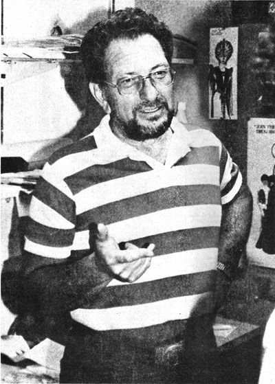 Joe Kubert, Photo Credit: Jim Salicrup for COMICS INTERVIEW