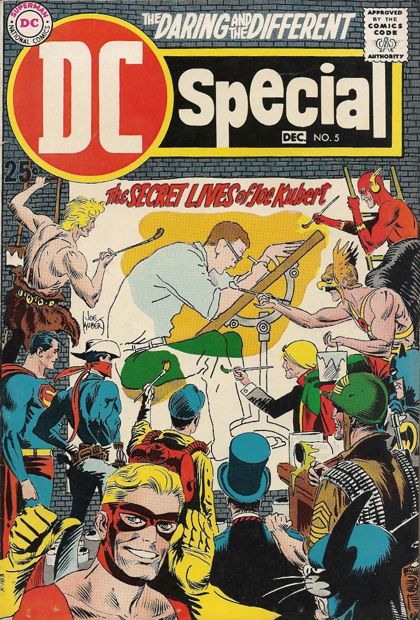 DC Speacial (1968) #5, The Secret Lives of Joe Kubert.