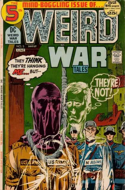 Weird War Tales (1971) #5 from DC comics. Cover by Joe Kubert.