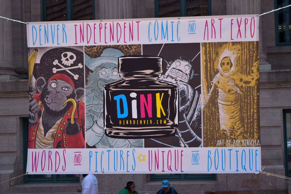 The outdoor banner for DINK 2017.