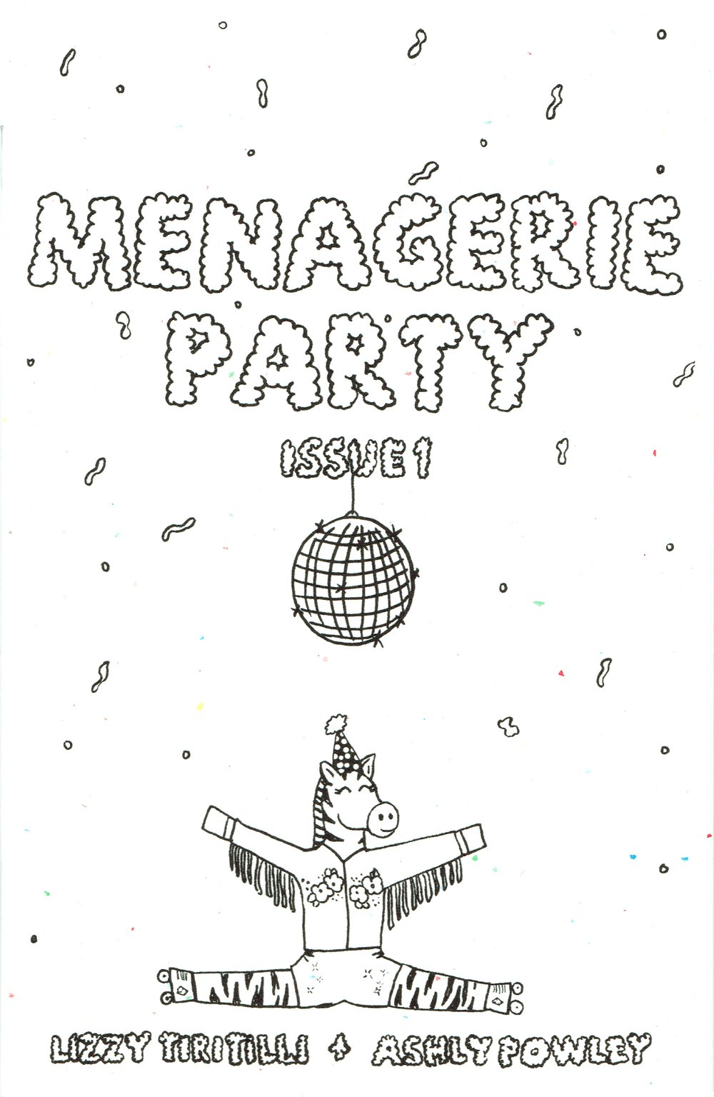 Menagerie Party by Lizzy Tiritilli & Ashly Powley at DINK 2017.