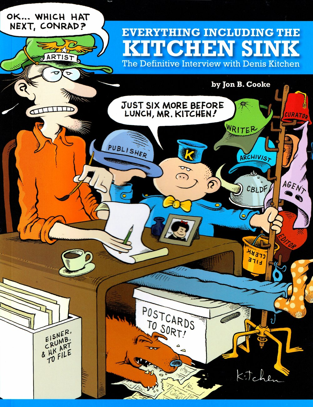 everything including the kitchen sink by jon b  cooke at dink 2017  cover an interview with denis kitchen of kitchen sink press  dink 2017      rh   nerdteam30 com
