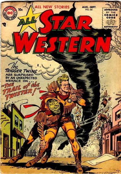 All-Star Western (1951) #84. Pencils by Gil Kane, inks by Joe Giella.