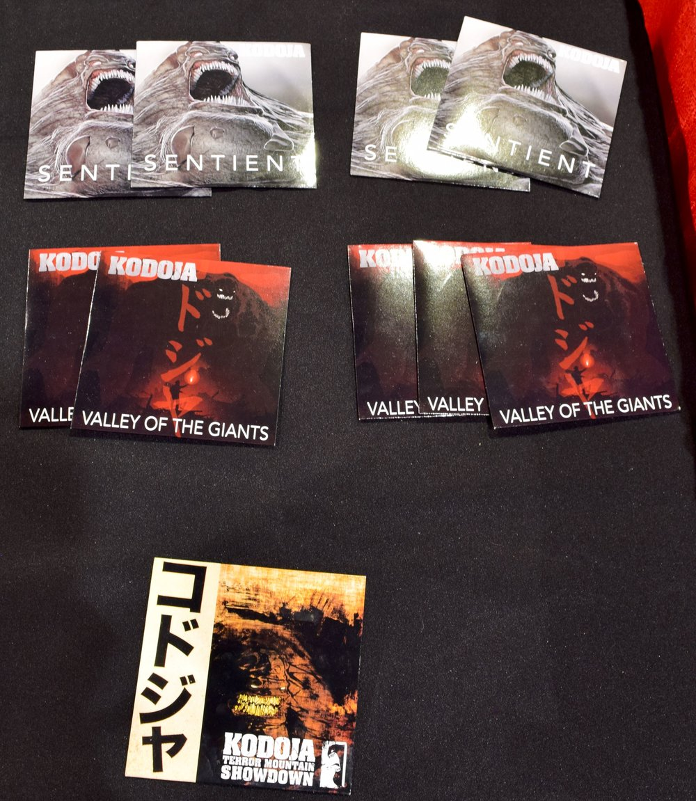 Kodoja CDs at Phoenix Comic Con 2017.