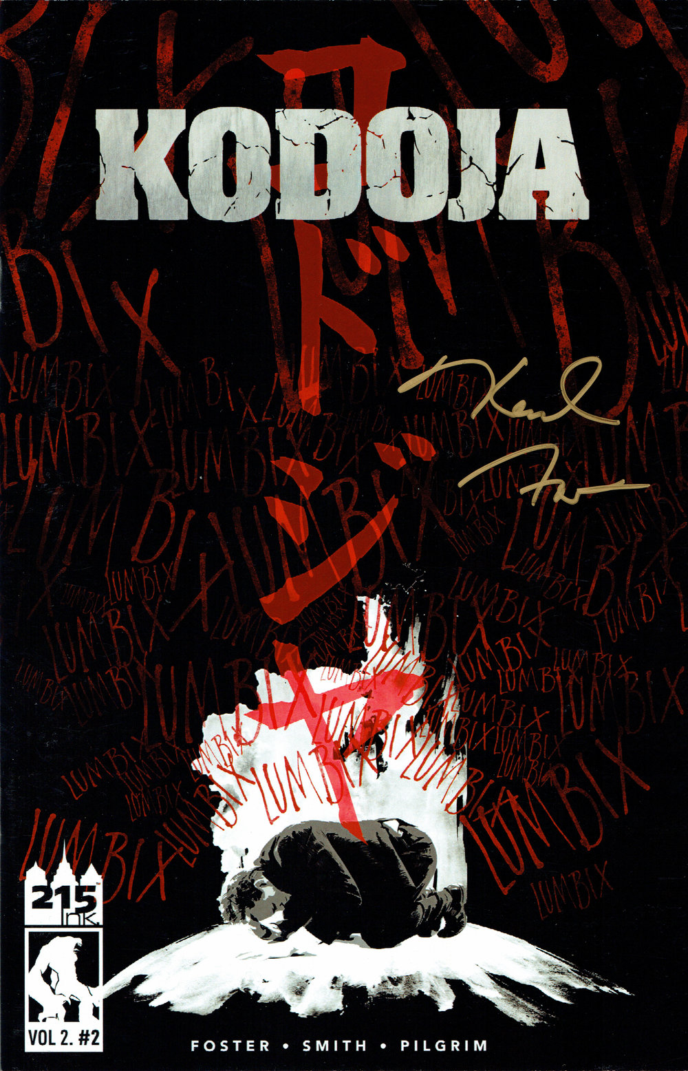 Kodoja vol.2 #1 from 215 Ink.