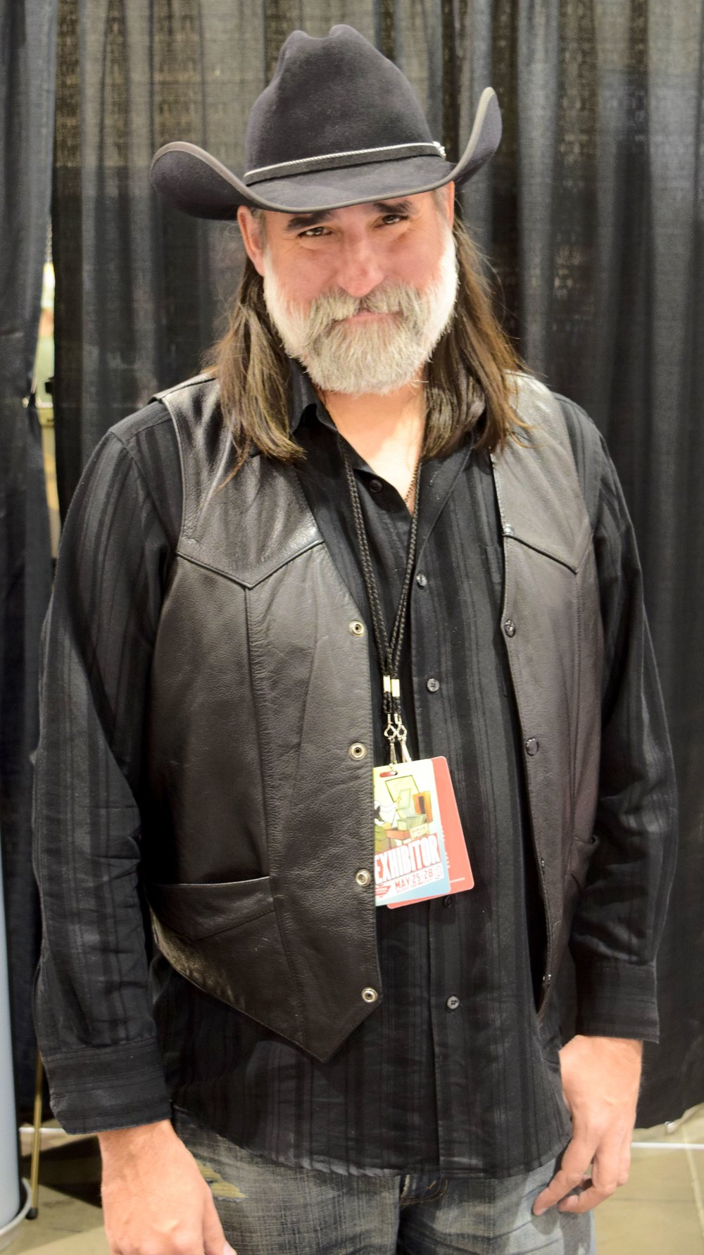 Matthew Fillbach at Phoenix Comic Con 2017.