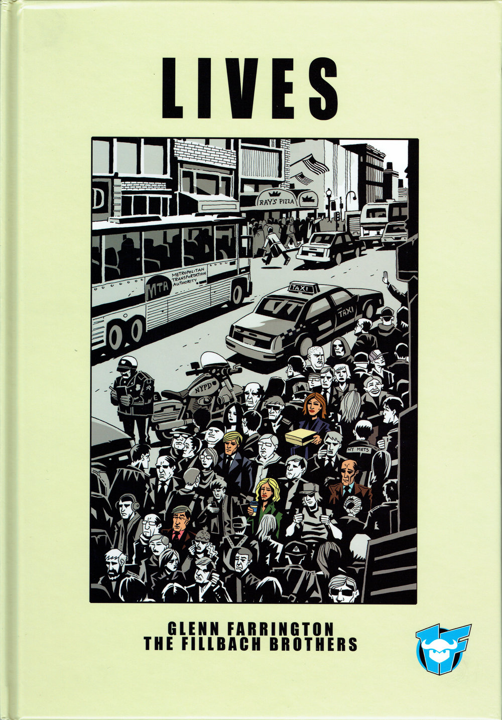 Lives graphic novel from 1First Comics. (front cover)