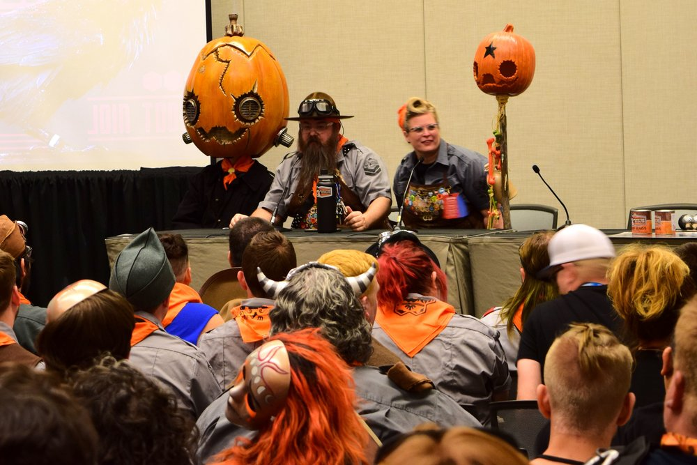 The Monster Scouts Rally at Phoenix Comic Con 2017. (3)