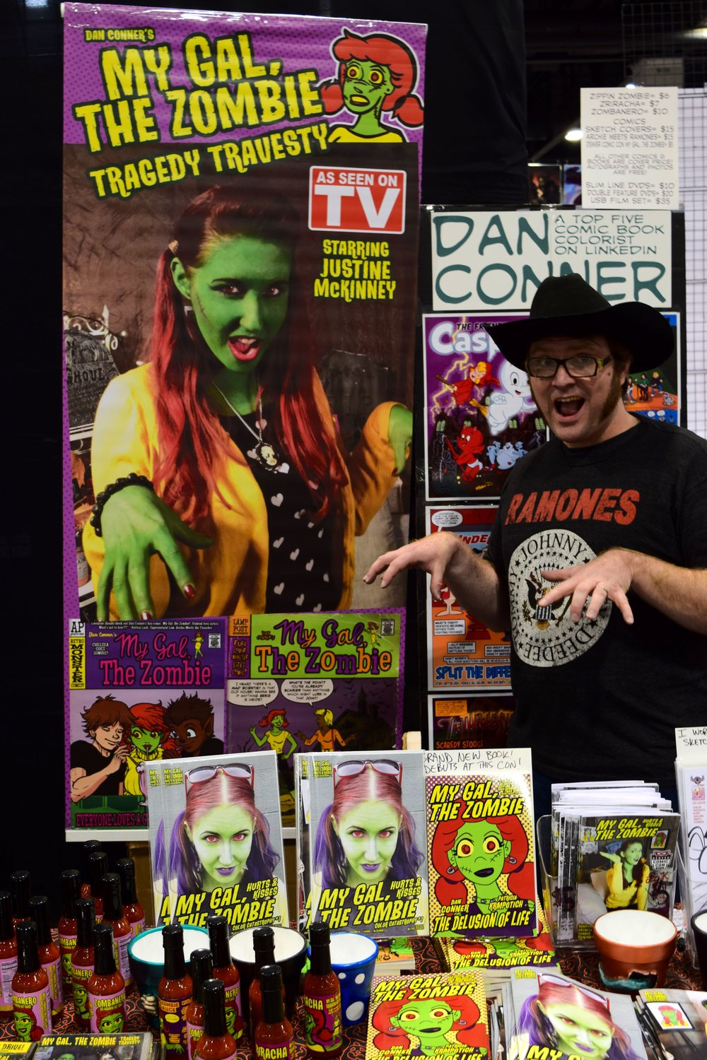 Dan Conner at Denver Comic Con 2017. (1)