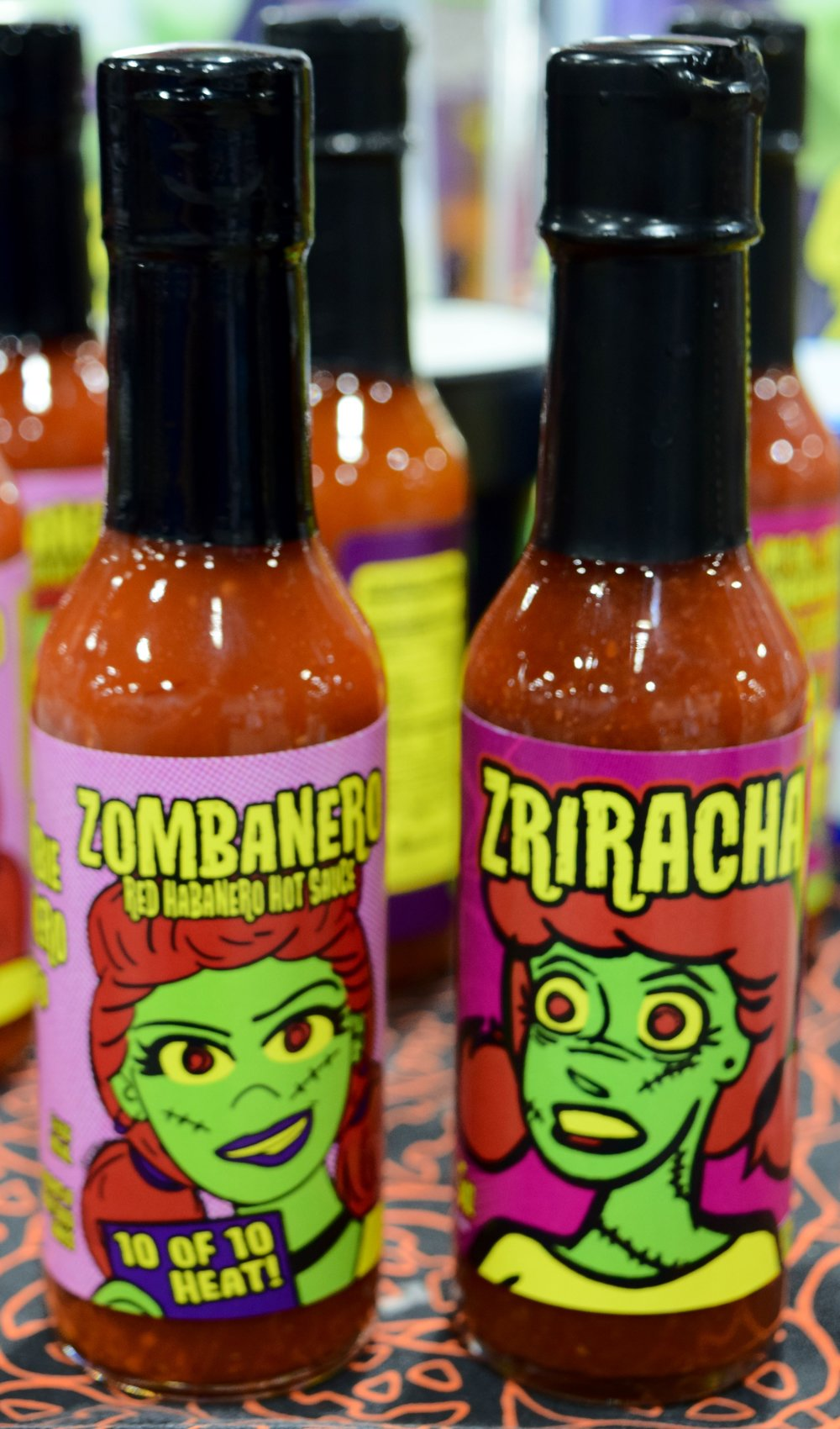 My Gal the Zombie hot sauce at Denver Comic Con 2017.