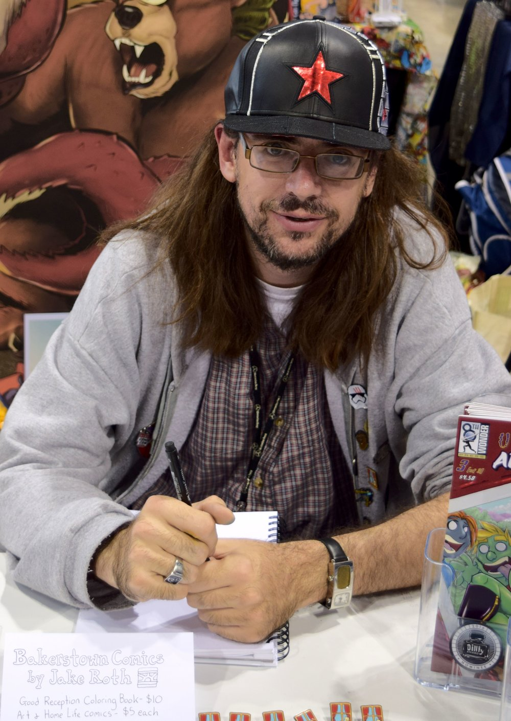 Jake Roth at Denver Comic Con 2017. (1)
