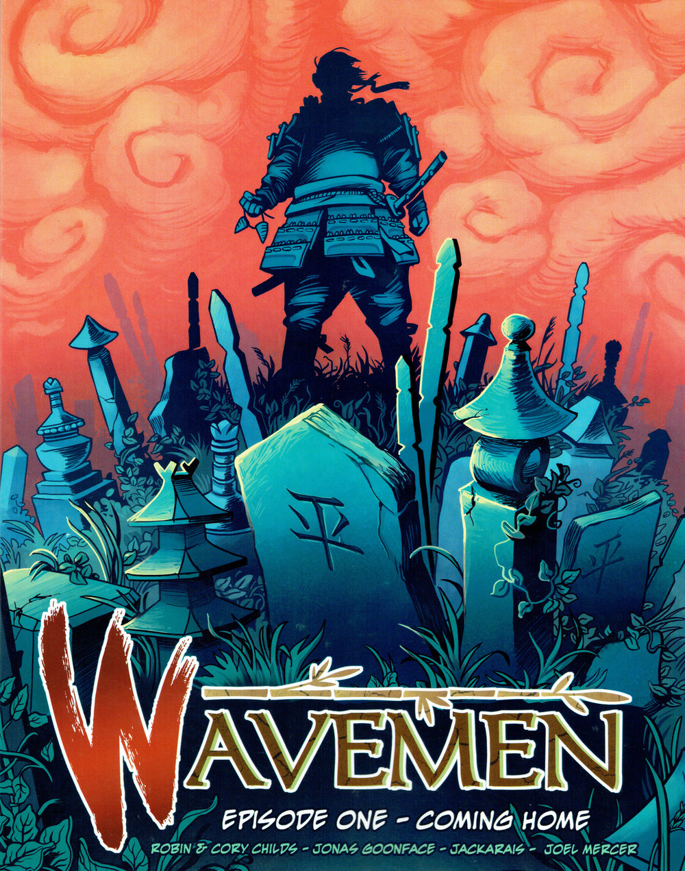 Wavemen vol.1 from Moko Press.