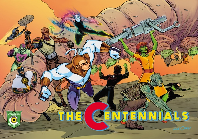 The Centennials comic book.