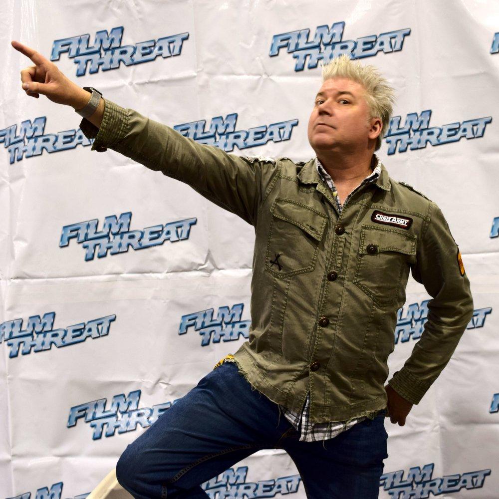 Chris Gore at Phoenix Comic Con 2017. (2)
