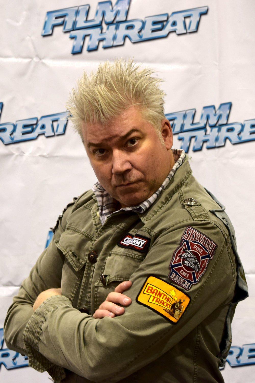 Chris Gore at Phoenix Comic Con 2017. ()