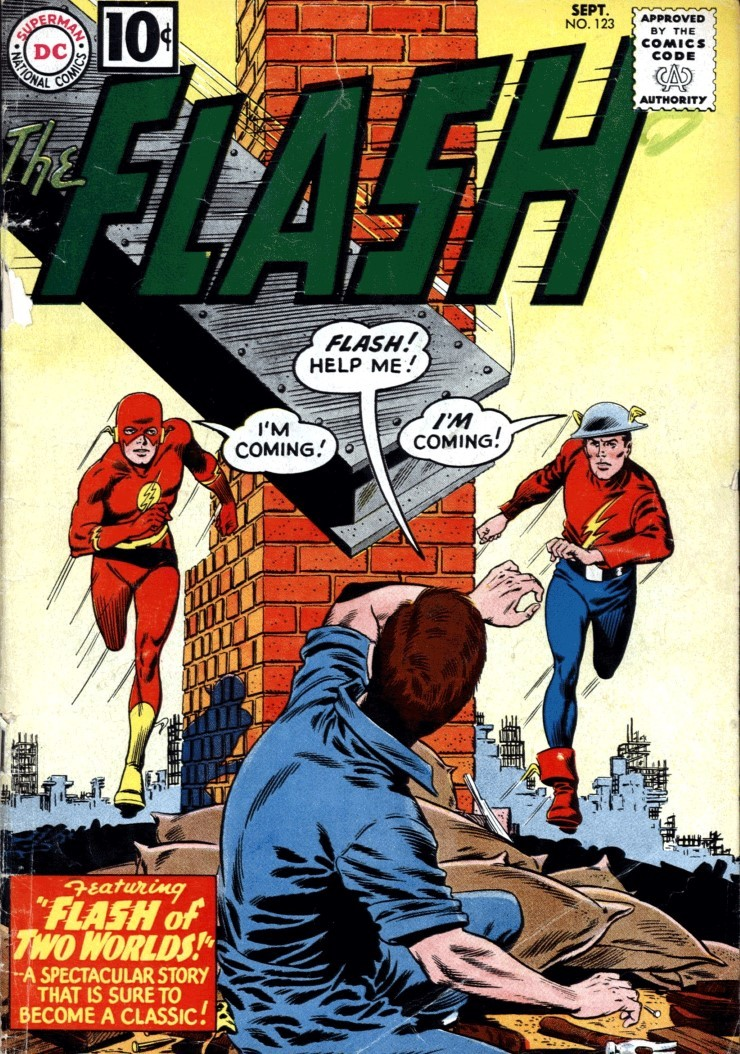 The Flash #123. Pencils by Carmine Infantino.