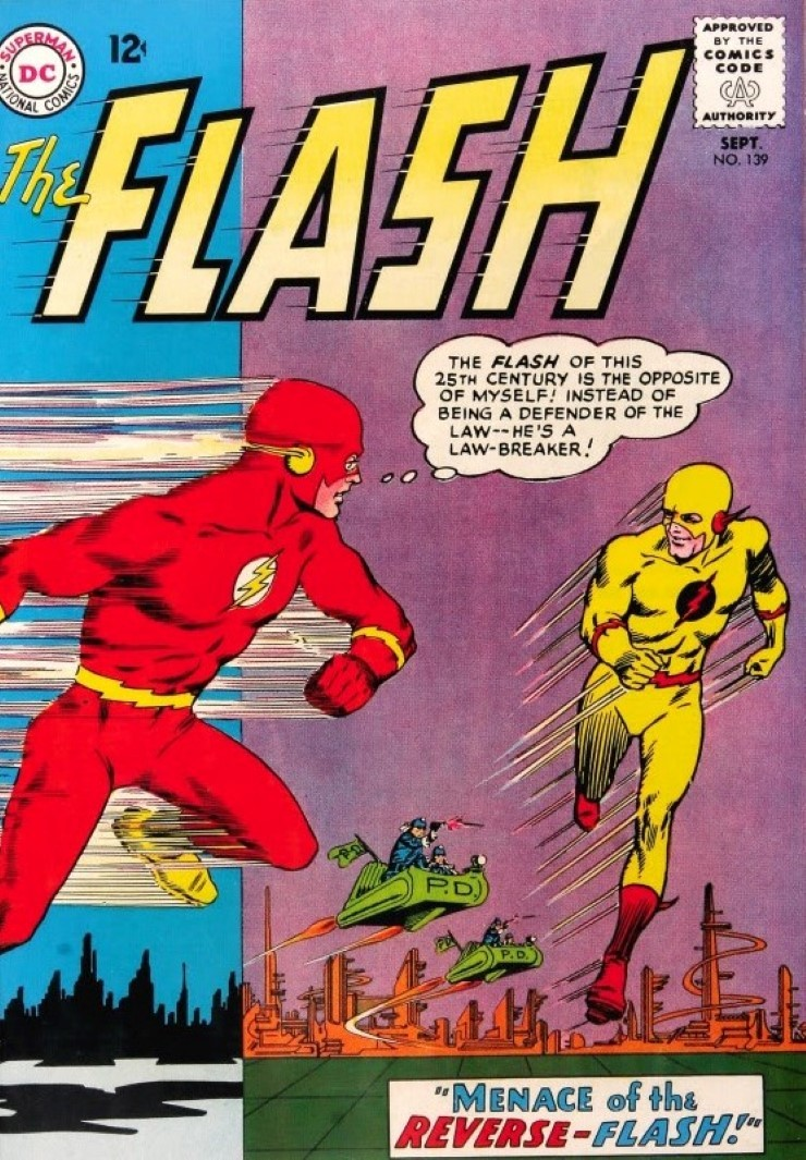 The Flash #129. Pencils by Carmine Infantino.