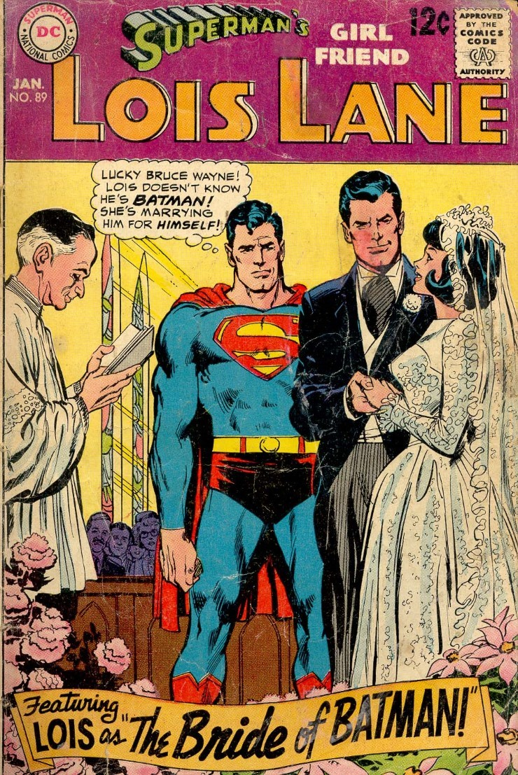 Lois Lane #89. Pencils by Carmine Infantino.