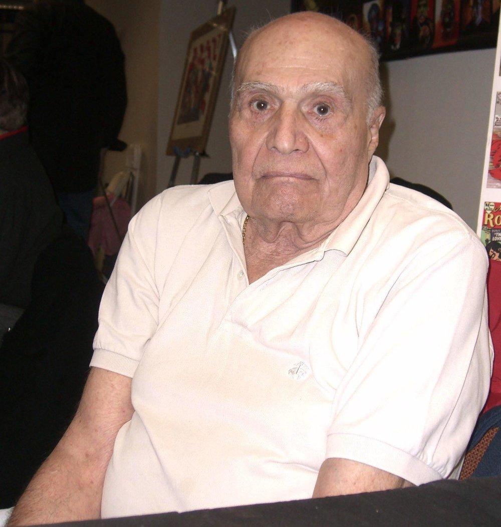 Carmine Infantino in 2008.