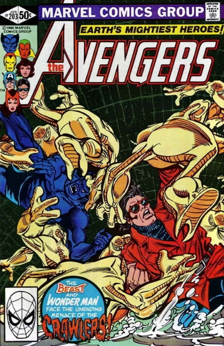 The Avengers #203. Pencils by Carmine Infantino.