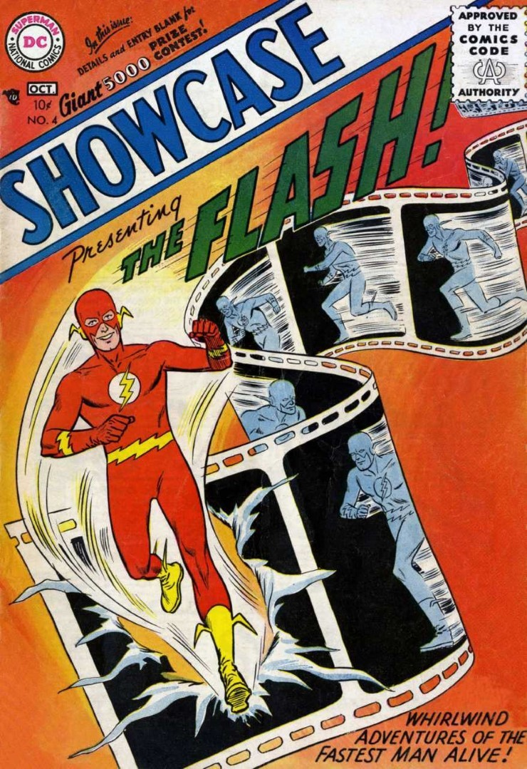 DC Showcase #4. Pencils by Carmine Infantino.