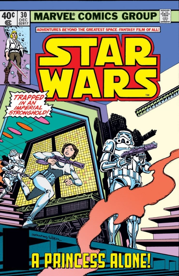 Star Wars # 30. Pencils by Carmine Infantino.