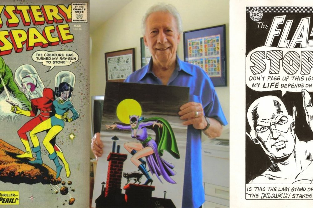 An Interview With Joe Giella - The Inker Extraordinaire   Written by Bryan Stroud