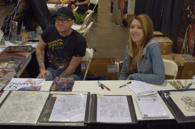 An Interview With Ash Maczko & Ashley M. Witter of Squarriors (Phoenix Comic Con 2016)   Written by Neil Greenaway