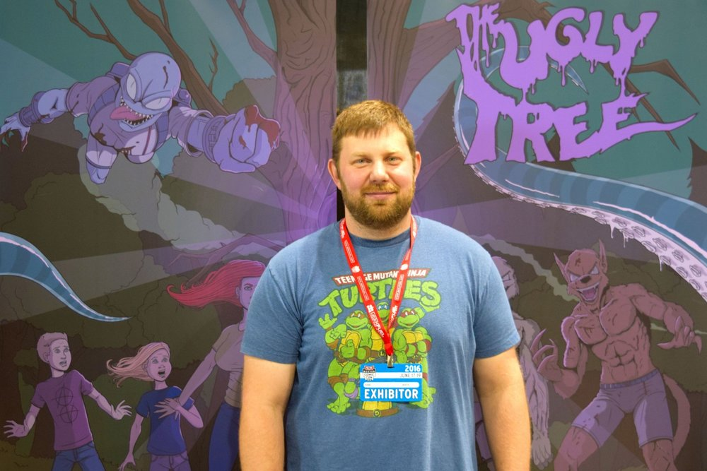 An Interview With Abrahm Akin of The Ugly Tree (Denver Comic Con 2016)   Written by Neil Greenaway