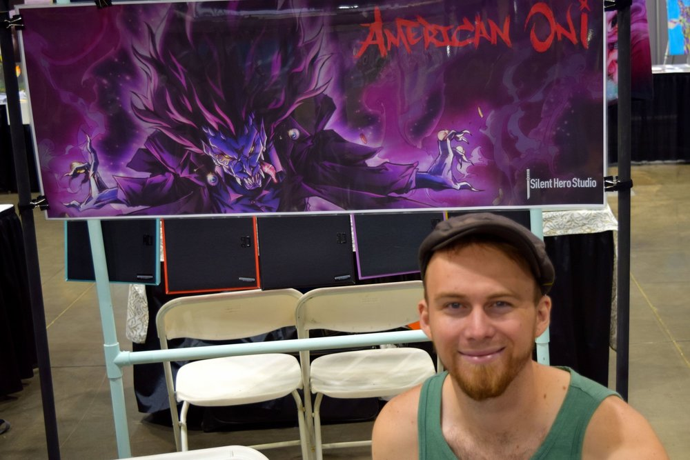 An Interview With Carl Buchanan of Silent Hero Studio (Denver Comic Con 2016)   Written by Neil Greenaway