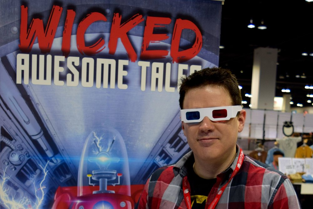 An Interview With Todd Jones of Wicked Awesome Comics (Denver Comic Con 2016)   Written by Neil Greenaway