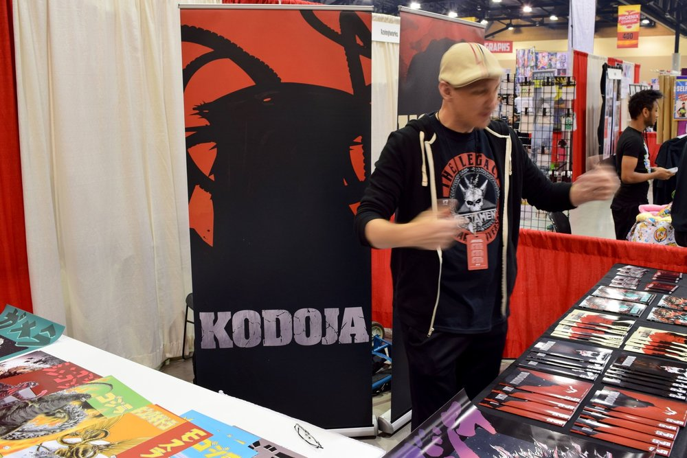 An Interview With Keith Foster of Kodoja (Phoenix Comic Con 2017)   Written by Neil Greenaway