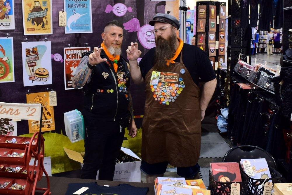 An Interview With Daniel & Dawna Davis of Steam Crow/Monster Scouts (Phoenix Comic Con 2017)   Written by Neil Greenaway