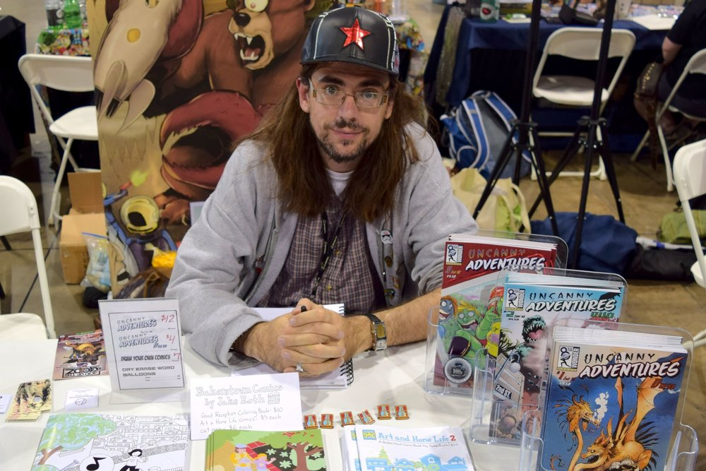 An Interview With Jake Roth of Art and Home Life (Denver Comic Con 2017)   Written by Neil Greenaway