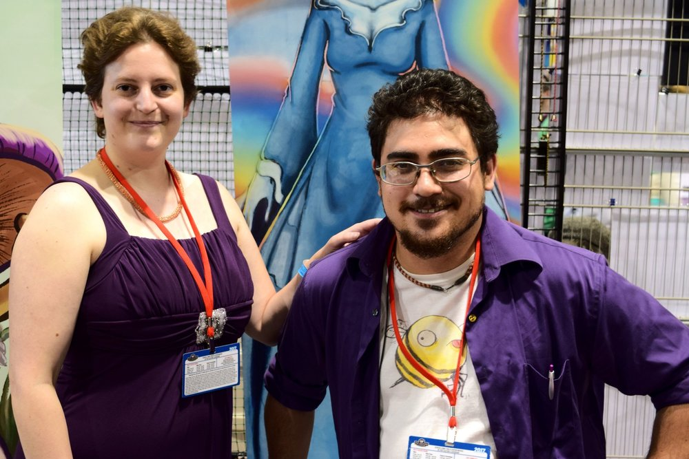 An Interview With Robin & Cory Childs of LeyLines and Wavemen (Denver Comic Con 2017)   Written by Neil Greenaway