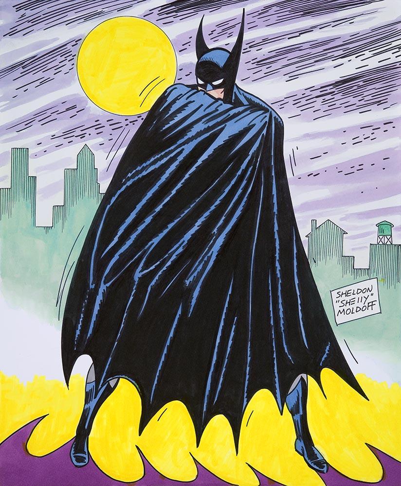 Batman commission from Sheldon Moldoff.