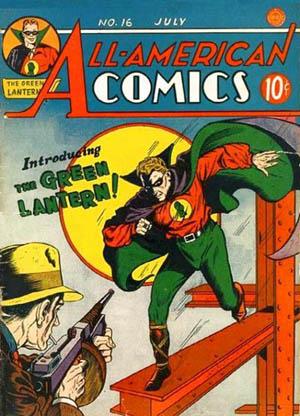 All-American Comics #16. Cover pencils by Sheldon Moldoff.