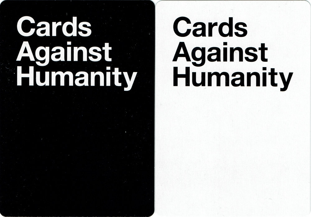 Cards Against Humanity Saves America - Day 3 New Cards (back)