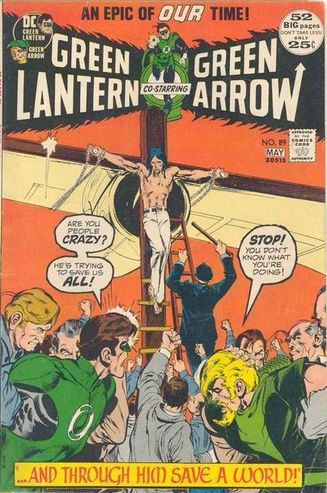 Green Lantern (1960) #89. Cover by Neal Adams.