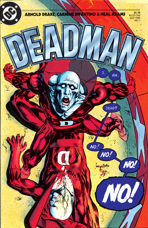Deadman (1985) #1. Cover by Neal Adams.