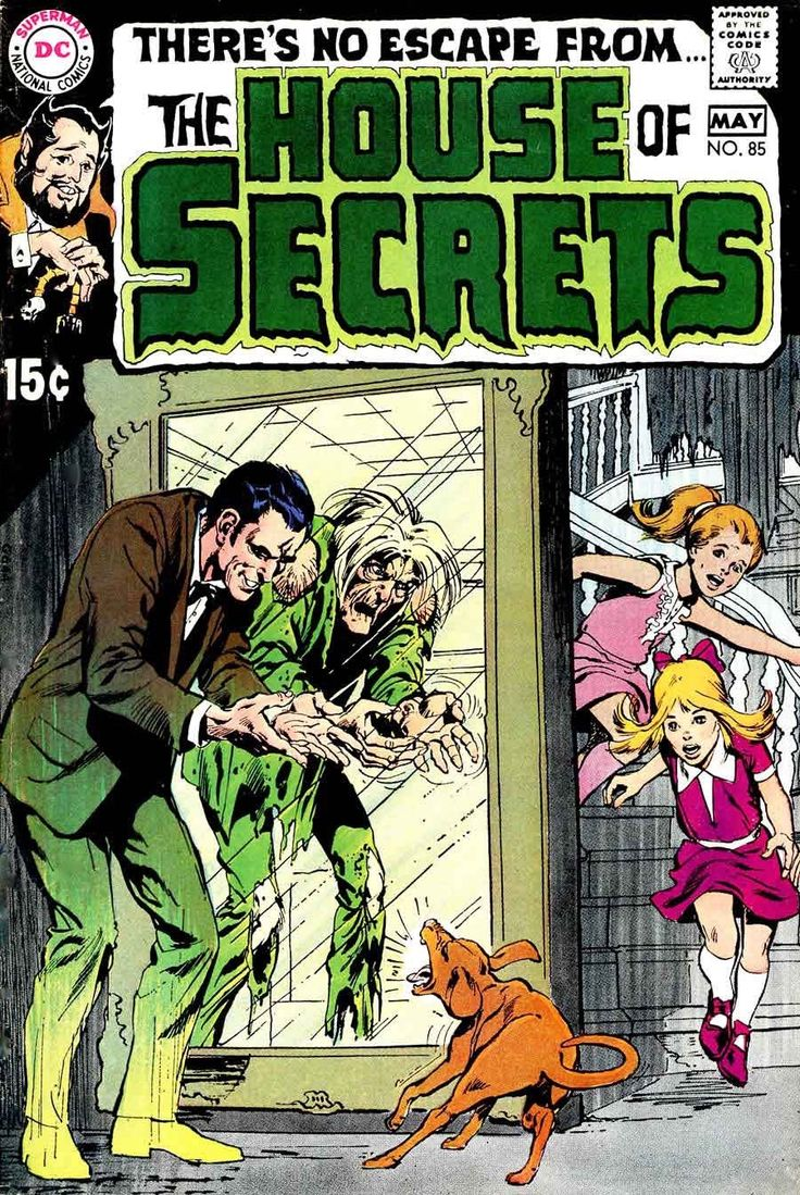 House Of Secrets (1956) #85. Cover by Neal Adams.