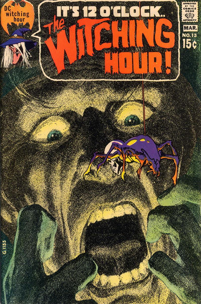 The Witching Hour () #13. Cover by Neal Adams.