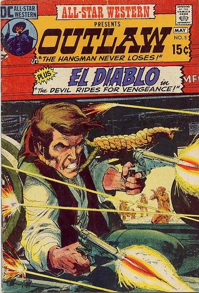 All-Star Western (1970) #5. Cover by Neal Adams.