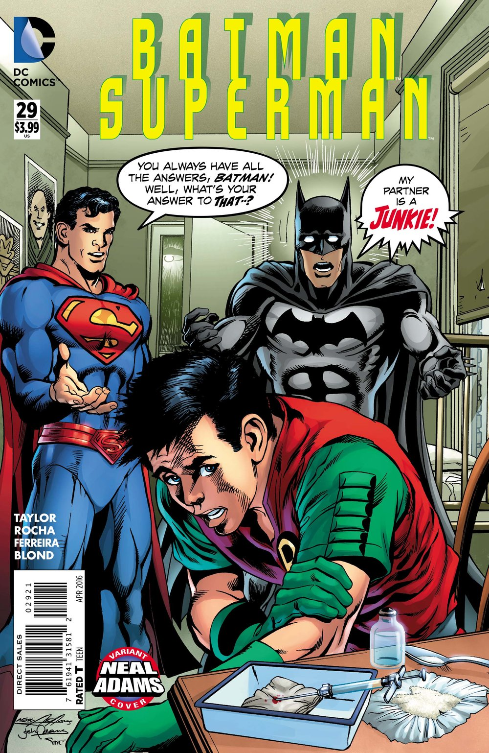 Batman/Superman () #29 Neal Adams Variant.