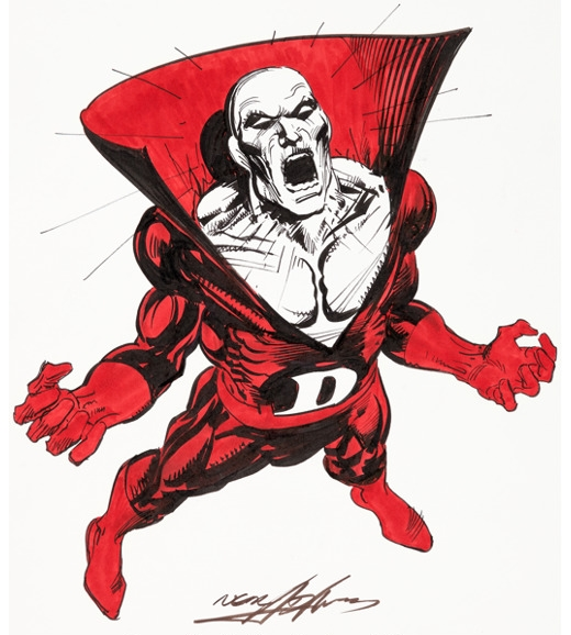 A Deadman sketch by Neal Adams.
