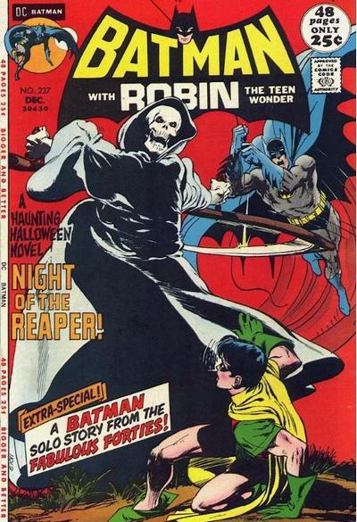 Batman (1940) #237. Cover by Neal Adams.