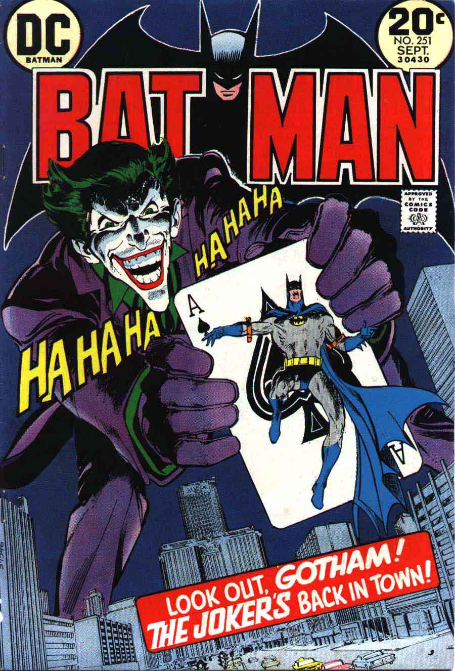 Batman (1940) #251. Cover by Neal Adams.