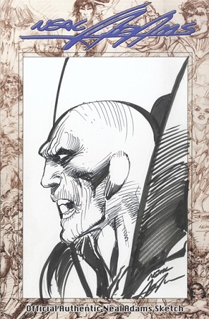 A Deadman sketch done by Neal Adams.