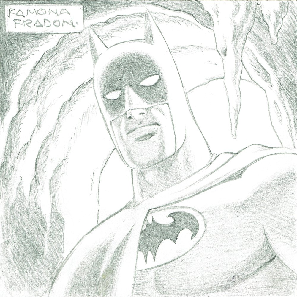 Batman by Ramona Fradon.