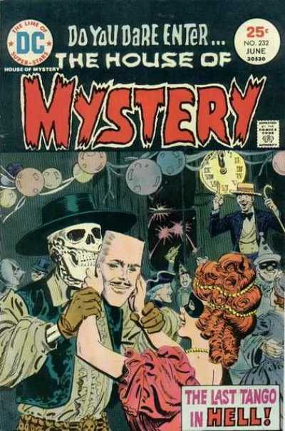 House Of Mystery #232. Cover by Ramona Fradon.
